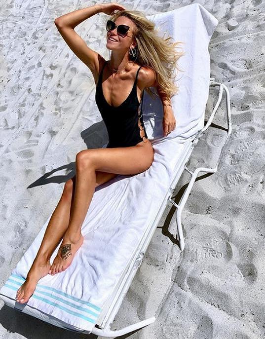 Veronika Kopřivová se ráda chlubí svou krásnou postavou.