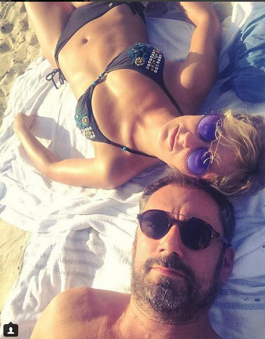 Lucie Hunčárová a Emanuele Ridi si užívali volno v Itálii.