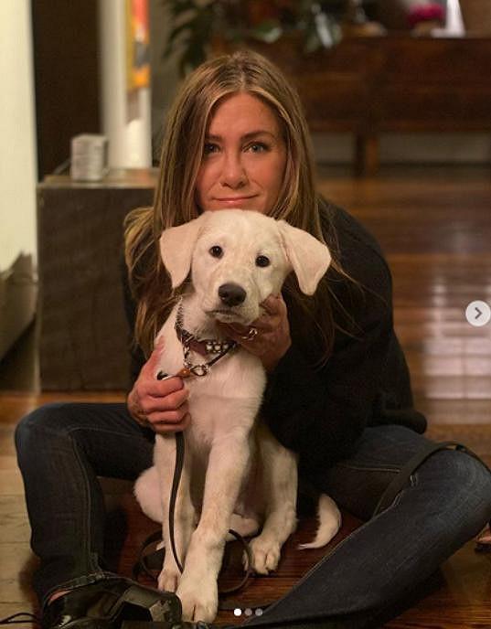 Jennifer Aniston strávila Den díkůvzdání v roztomilé společnosti.