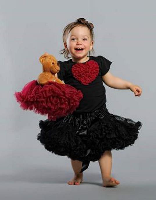 Dvouletá dcera Terezka jim dělá jen radost.