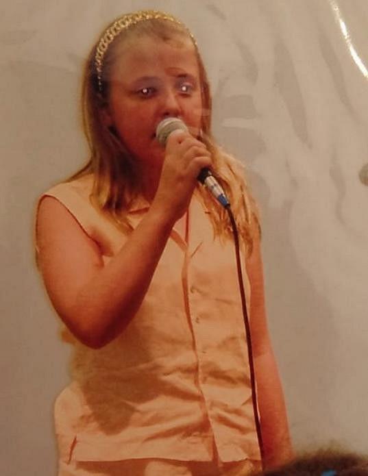 Anna Slováčková zpívala od dětství.
