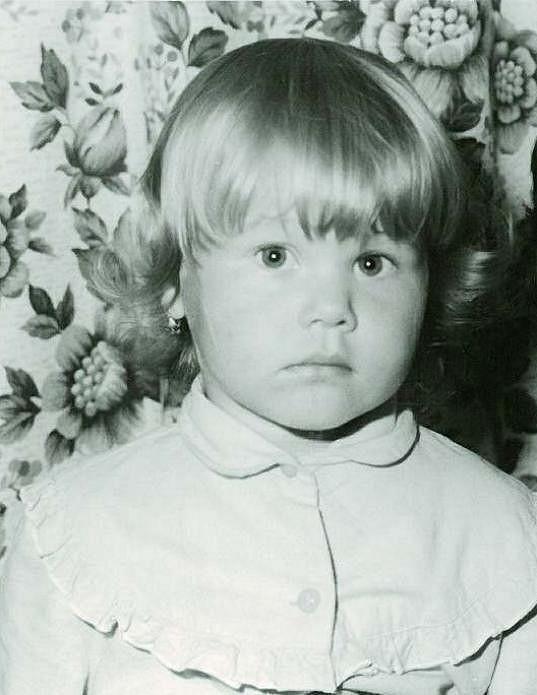 Jako malá byla blondýnka...