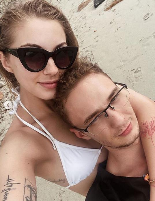 Blogerka se svým přítelem, se kterým už by chtěla mít i děti.