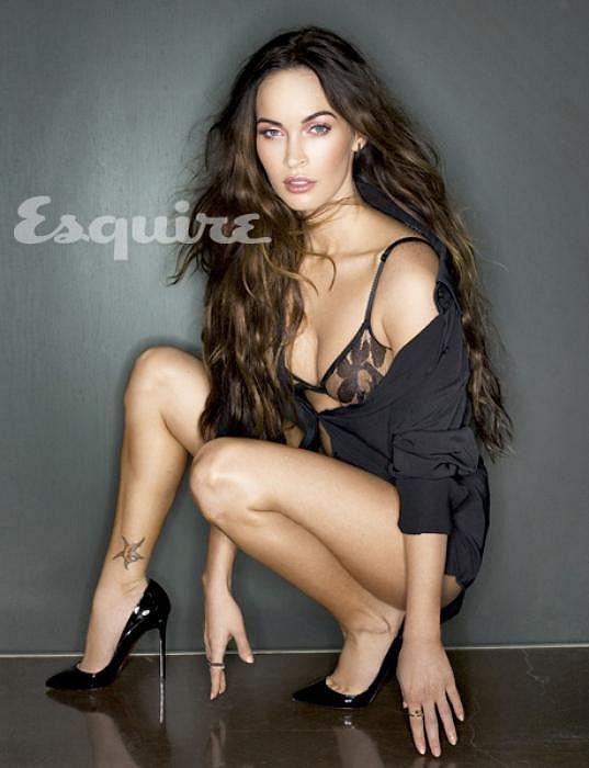 Megan Fox jen pár měsíců od porodu.
