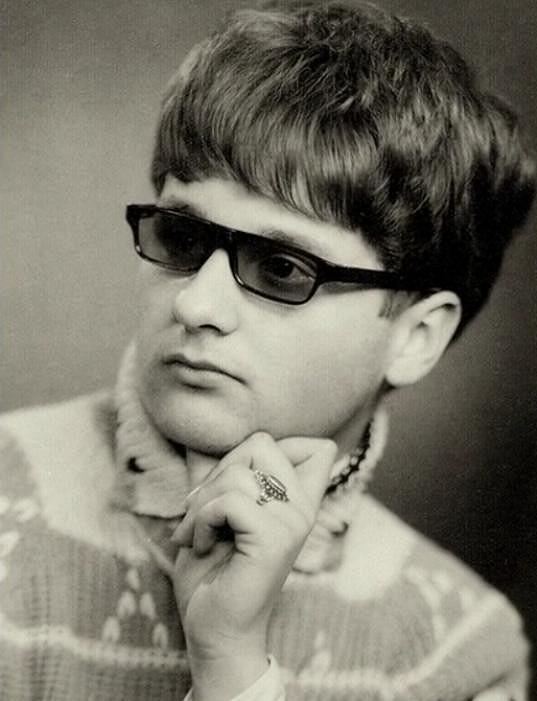 Fotograf v době, kdy se rozhodl emigrovat.