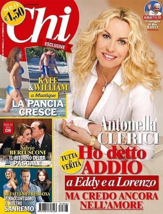 Magazín Chi láká na fotografie královského páru z pláže i na obálce.