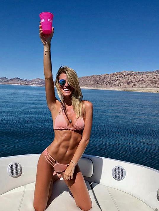 Veronika Kopřivová si užívá krásy Las Vegas a okolí.
