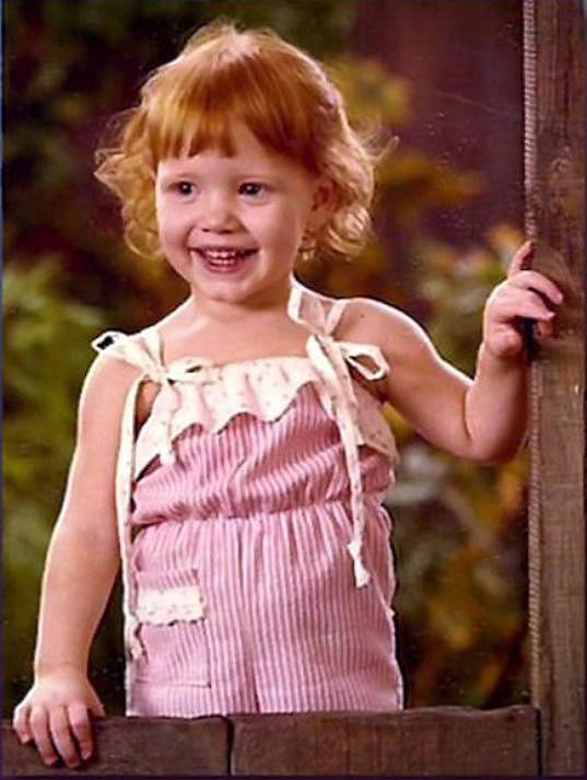 Takhle Jessica Chastain vypadala v dětství.
