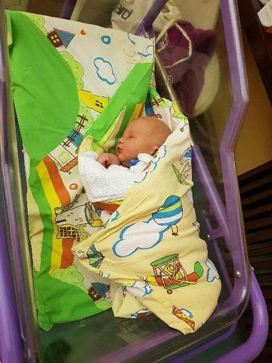 Vnuk Pepy Klímy dostal jméno Přemysl.