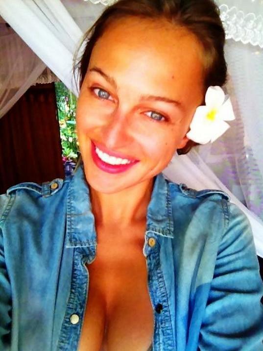 Renata Langmannová bez známky make-upu.