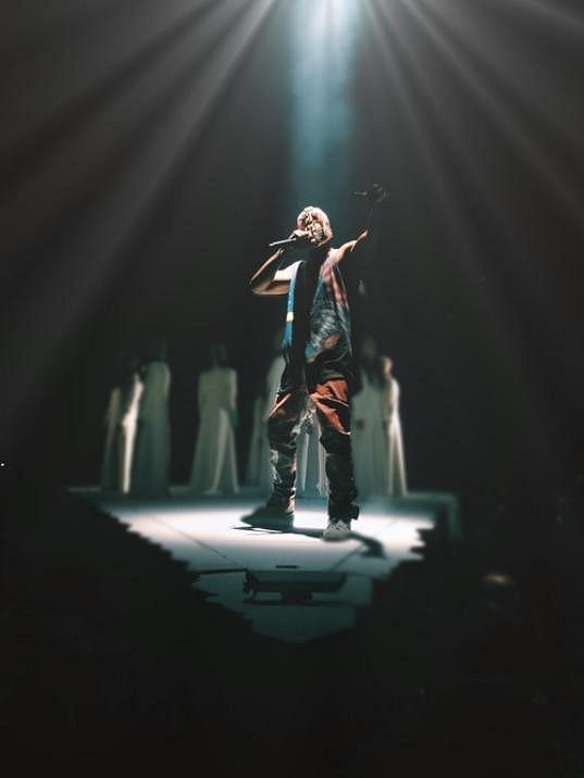 Kanye West v akci