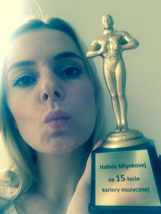 Halina Mlynková už v Polsku získala všechny hudební ceny.