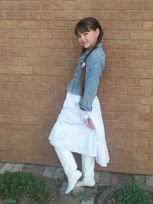 V civilu je to roztomilá holčička s talentem od boha.