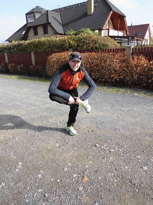 Tomáš Hauptvogel denně běhá.