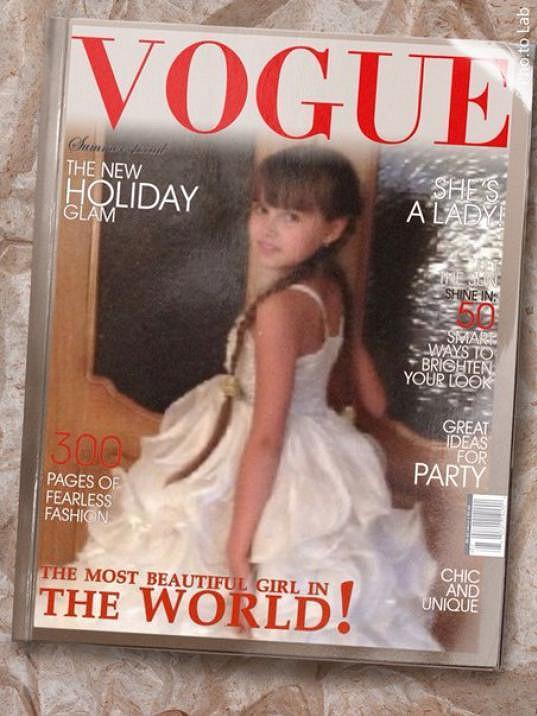 Už se objevila i na obálce Vogue.