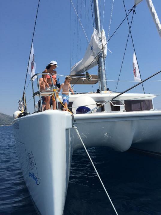 Na tomhle plavidle trávila Partyšová se synem a milencem týden.