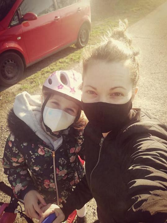 Míša Nosková s dcerou Eliškou