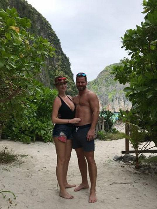 Dominika s Tomášem na dovolené v Thajsku