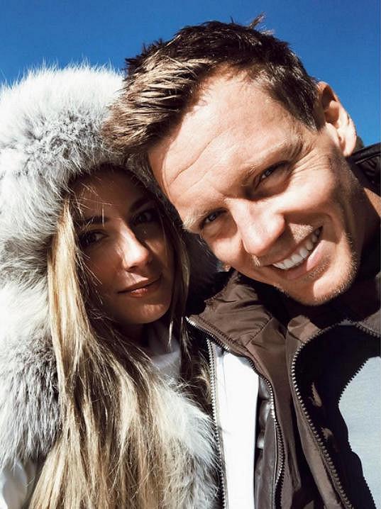 S manželem Tomášem Berdychem si užívali v Kitzbühelu.