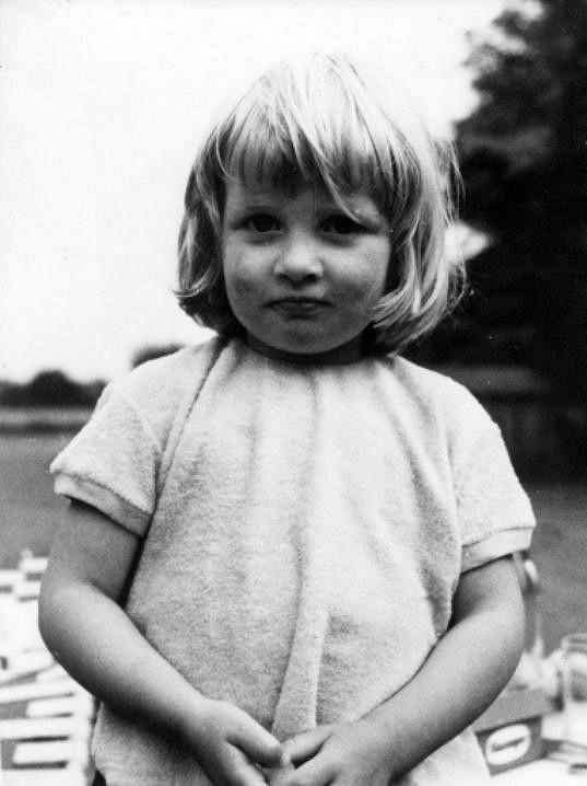 Lady Diana v dětství