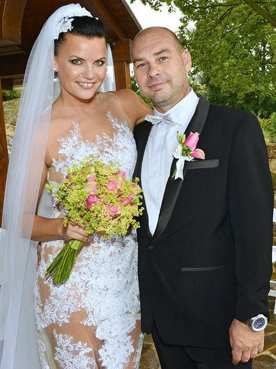 Anna s manželem Františkem