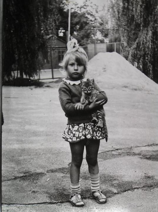 Inna Puhajková byla roztomilé děvčátko, i když se mračila.