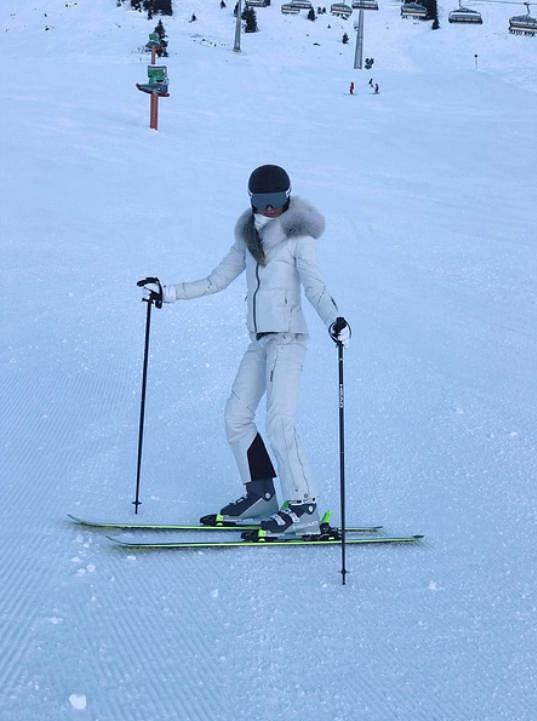 Ester Berdych Sátorová řádila na horách.