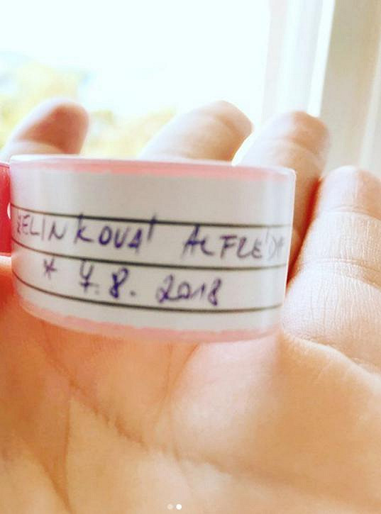 Alfréda se narodila už 7. srpna.