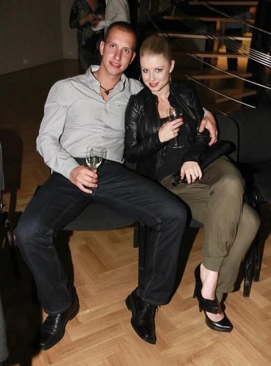 Michaela Sejnová a její přítel Honza jsou krásný páreček.