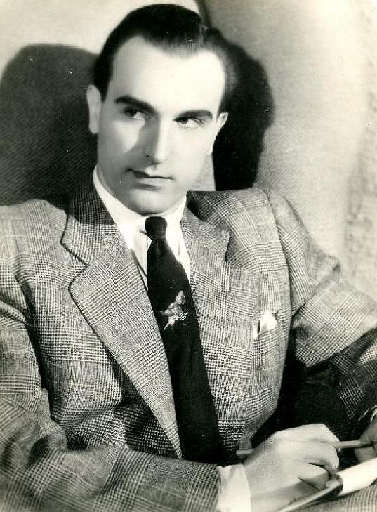 Populární milovník Raoul Schránil ve filmu Panna (1940).