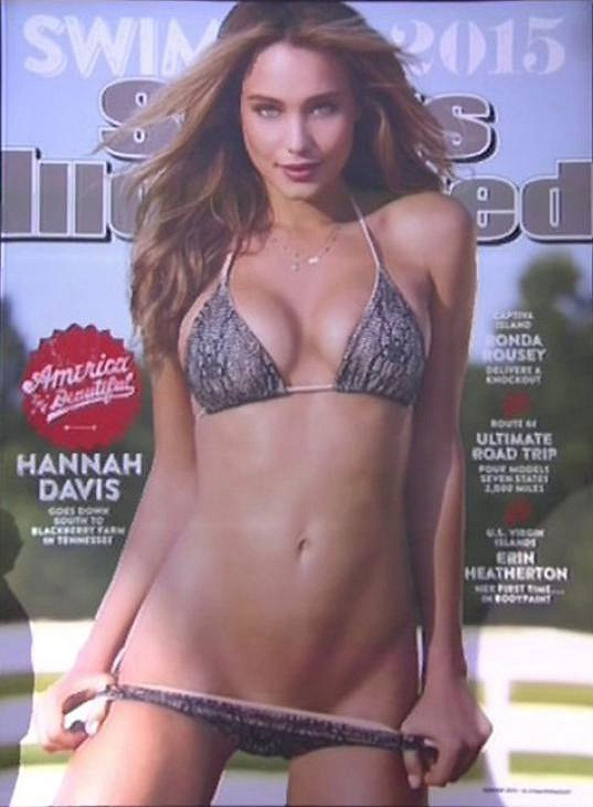 Sports Illustrated s Hannah Davis