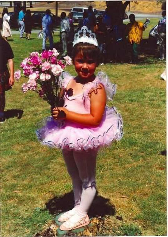 Amy Marie miluje tanec od tří let.