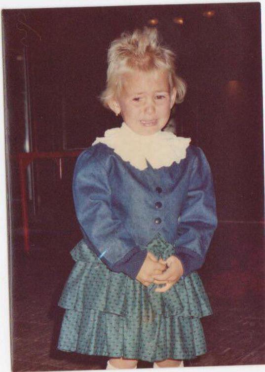 V pěti letech šla první módní přehlídku.