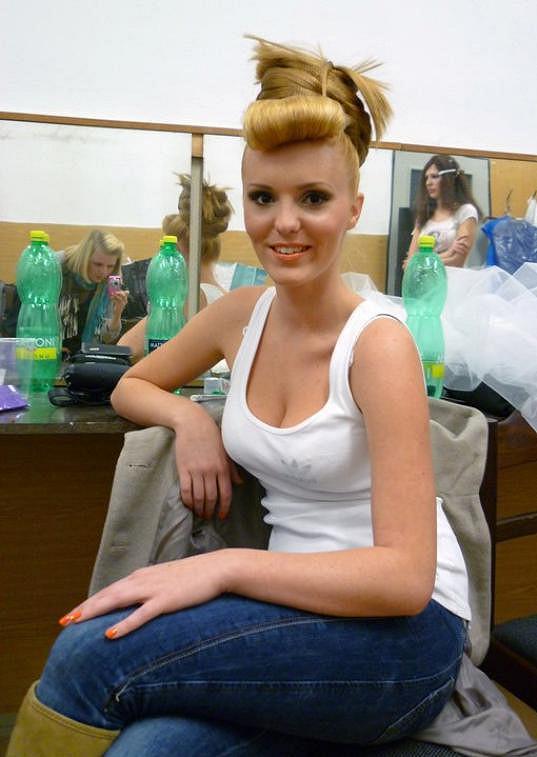 Organizátorka Jana Studničková je sama modelka.