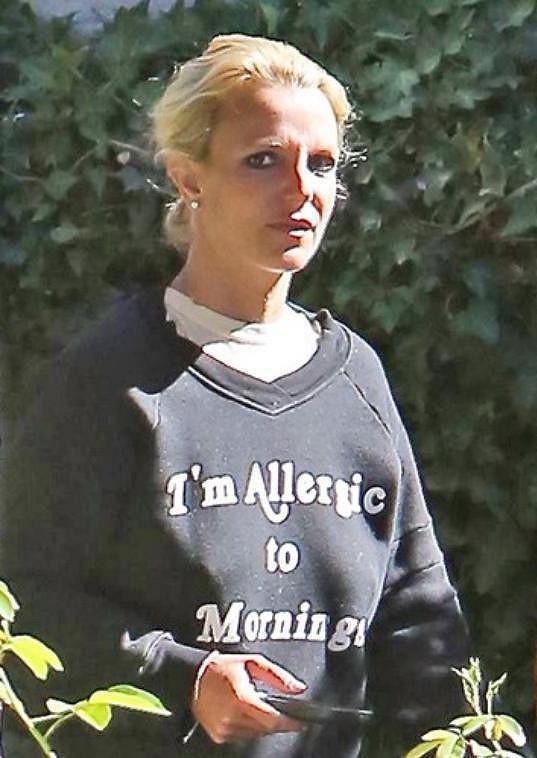 A takhle vypadá Britney v civilu.