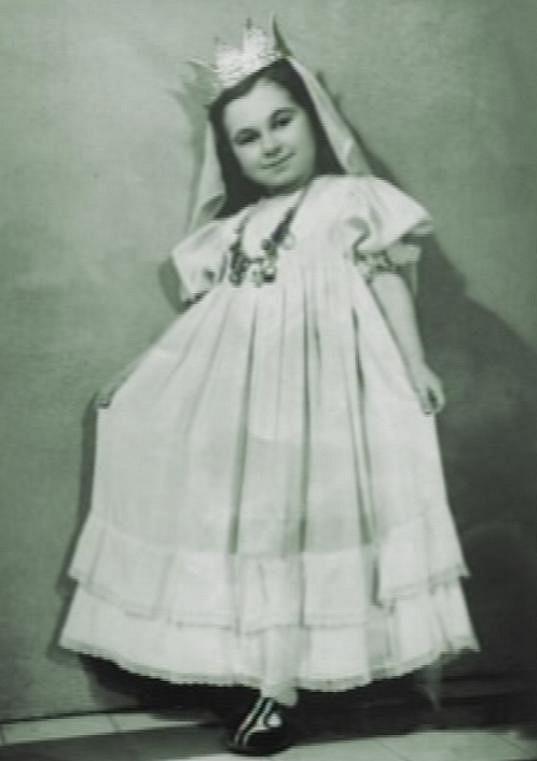 Aťka Janoušková se jako malá věnovala baletu.