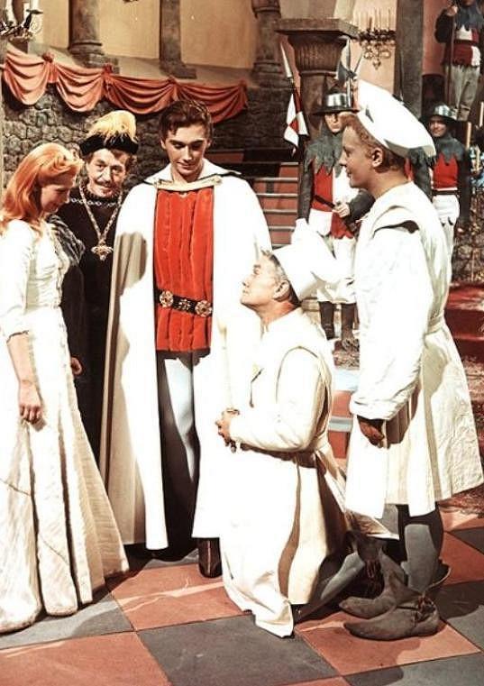 Diváci si ho oblíbili v roli prince Radovana v pohádce Princezna se zlatou hvězdou, kde excelovala dnes již zesnulá Marie Kyselková, jako princezna Lada.