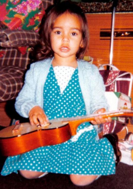 Christie byla nádherná holčička.
