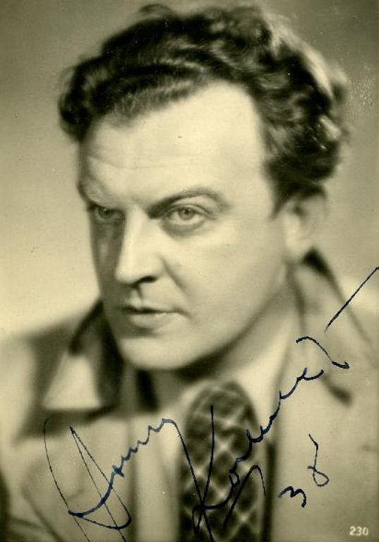 Rok před druhou světovou válkou už patřil k nejoblíbenějším hercům.