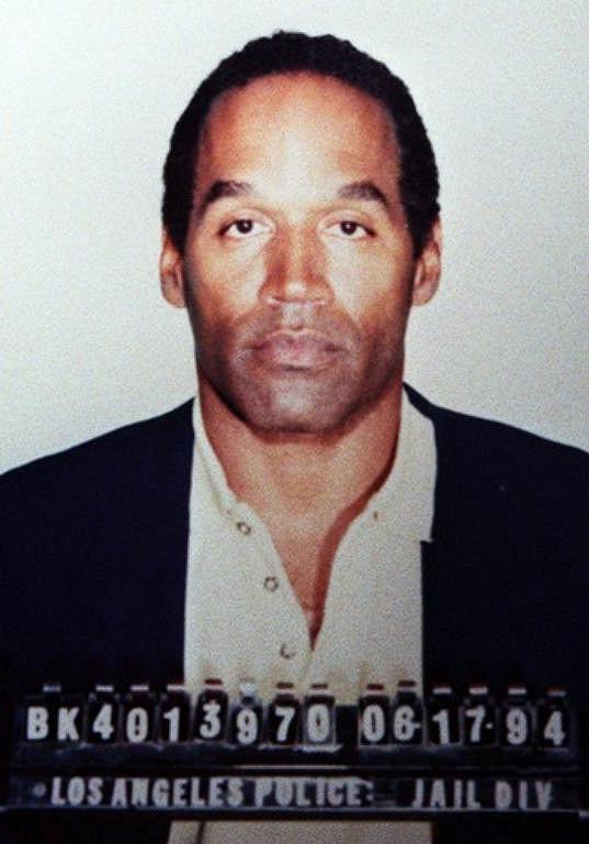 O. J. Simpson na policejním snímku