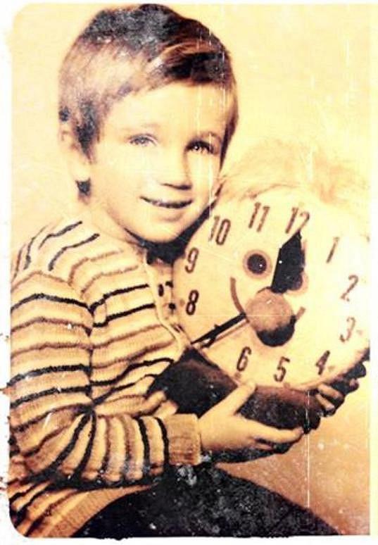 Ondřej Sokol měl uhrančivý pohled už jako malý kluk.