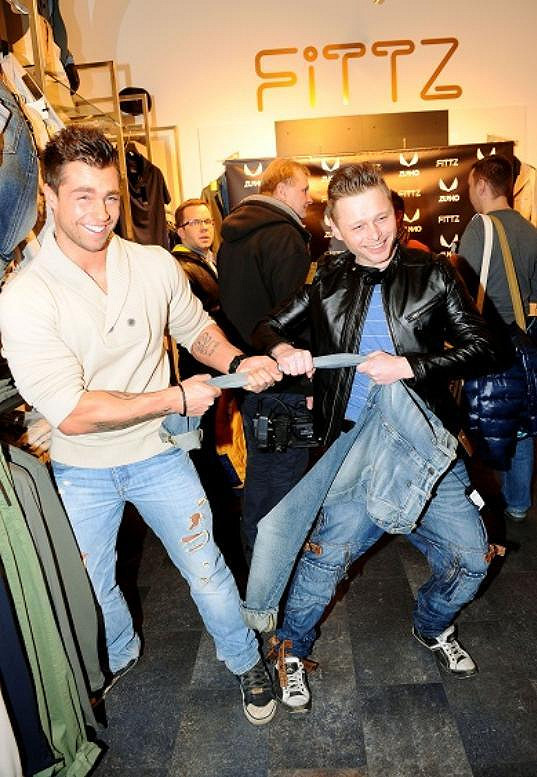 S Jarkem Šimkem se poprali o jedny džíny.
