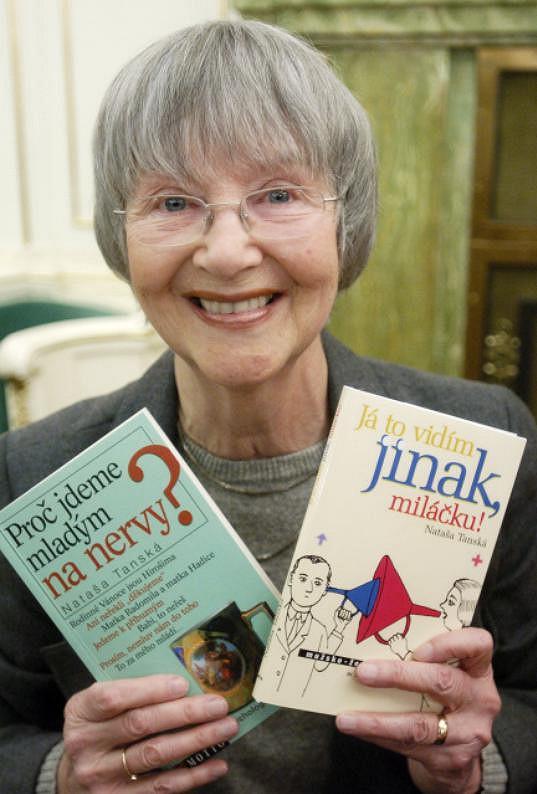 Nataša Tanská vystudovala dramaturgii a stala se úspěšnou spisovatelkou.