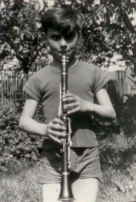 Už jako kluk měl vztah k hudbě.