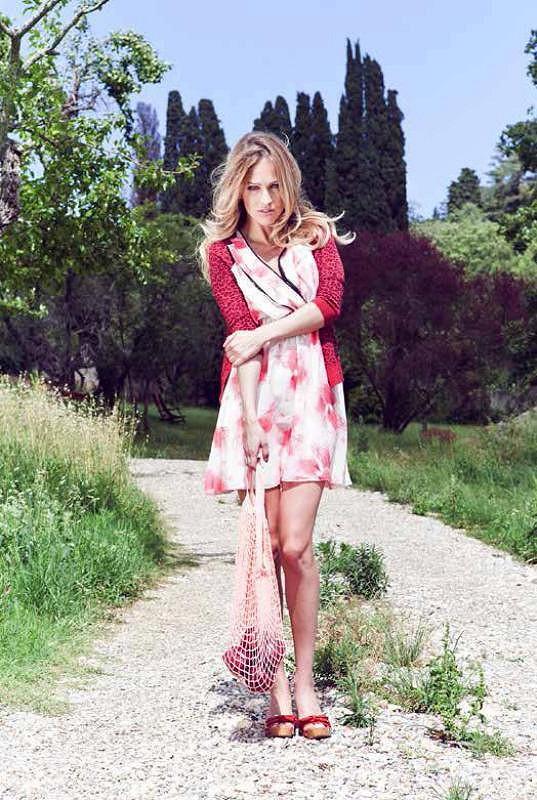 Renata Langmannová fotila pro světovou módní značku.
