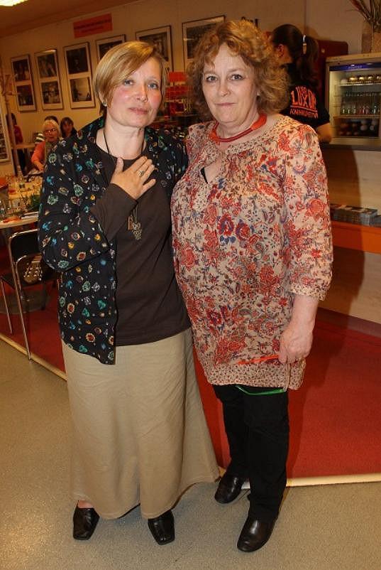 Jitka Smutná s přítelkyní Petrou Braunovou
