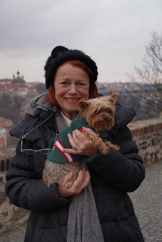 Iva Janžurová se těší z pátého vnoučka.