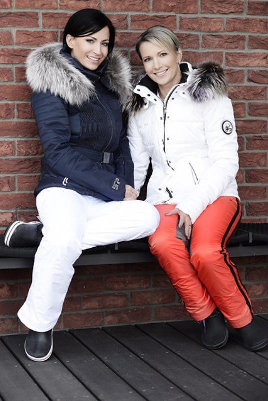 Gabriela Partyšová se svou starší sestrou Monikou