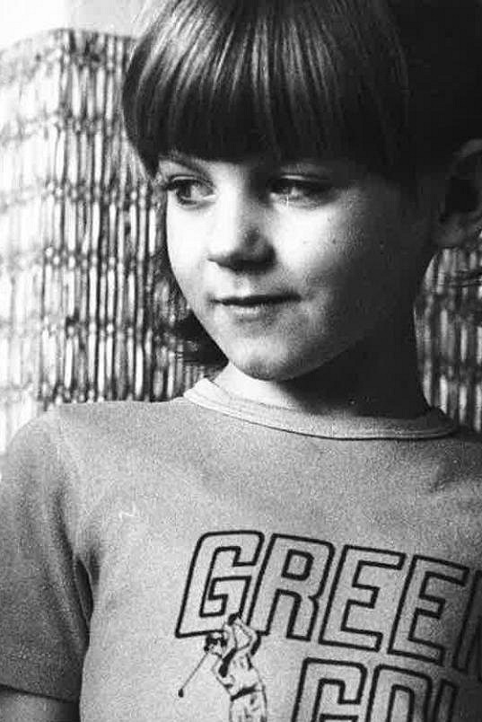 Sabina Laurinová jako malá holčička