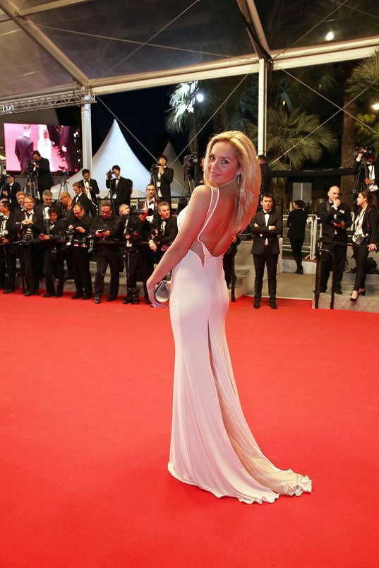 Taťána v Cannes zářila.